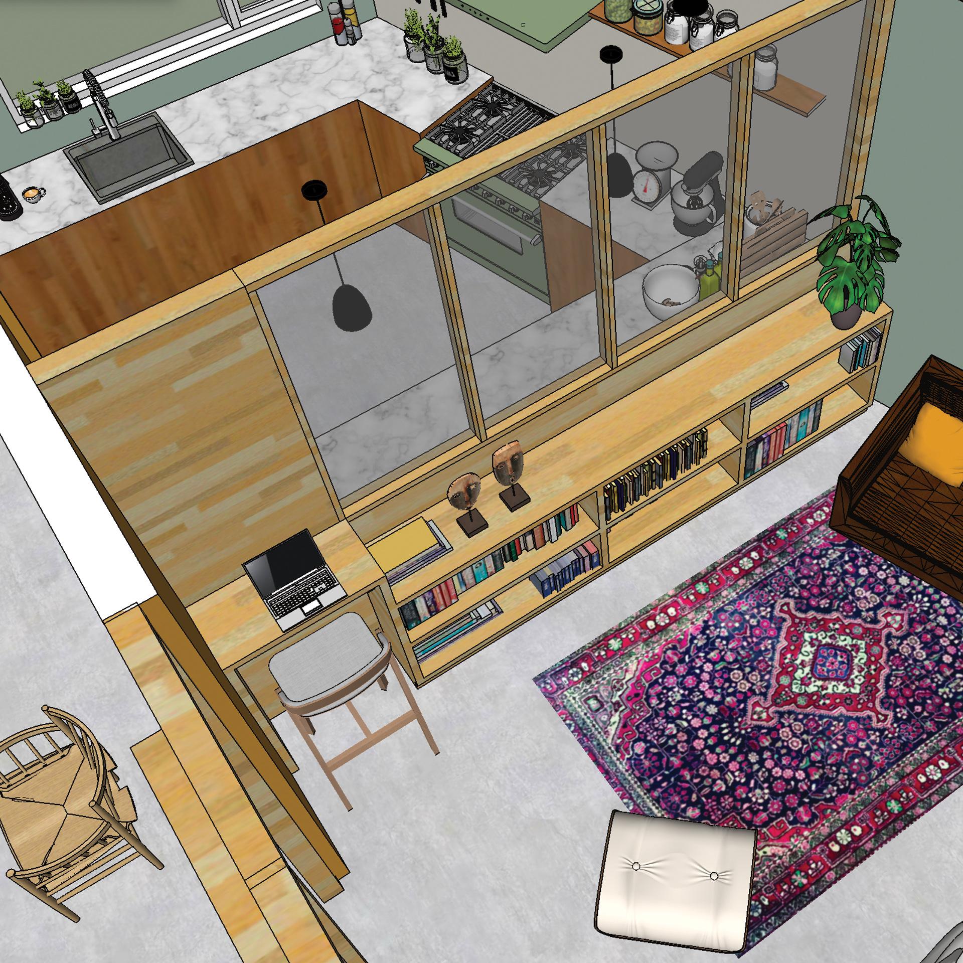 // benedenverdieping duurzaam huis Culemborg