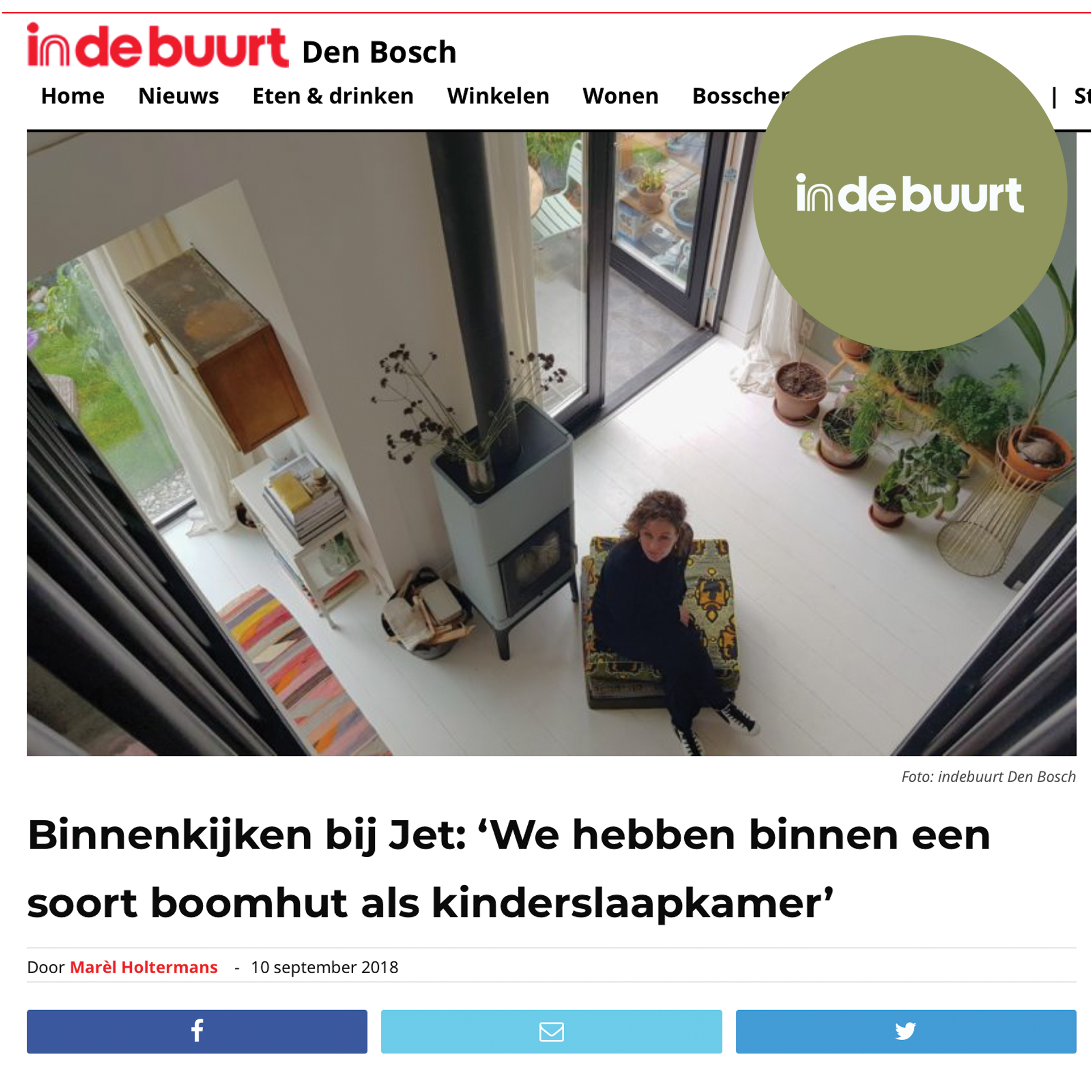 // interview in de buurt-Den Bosch